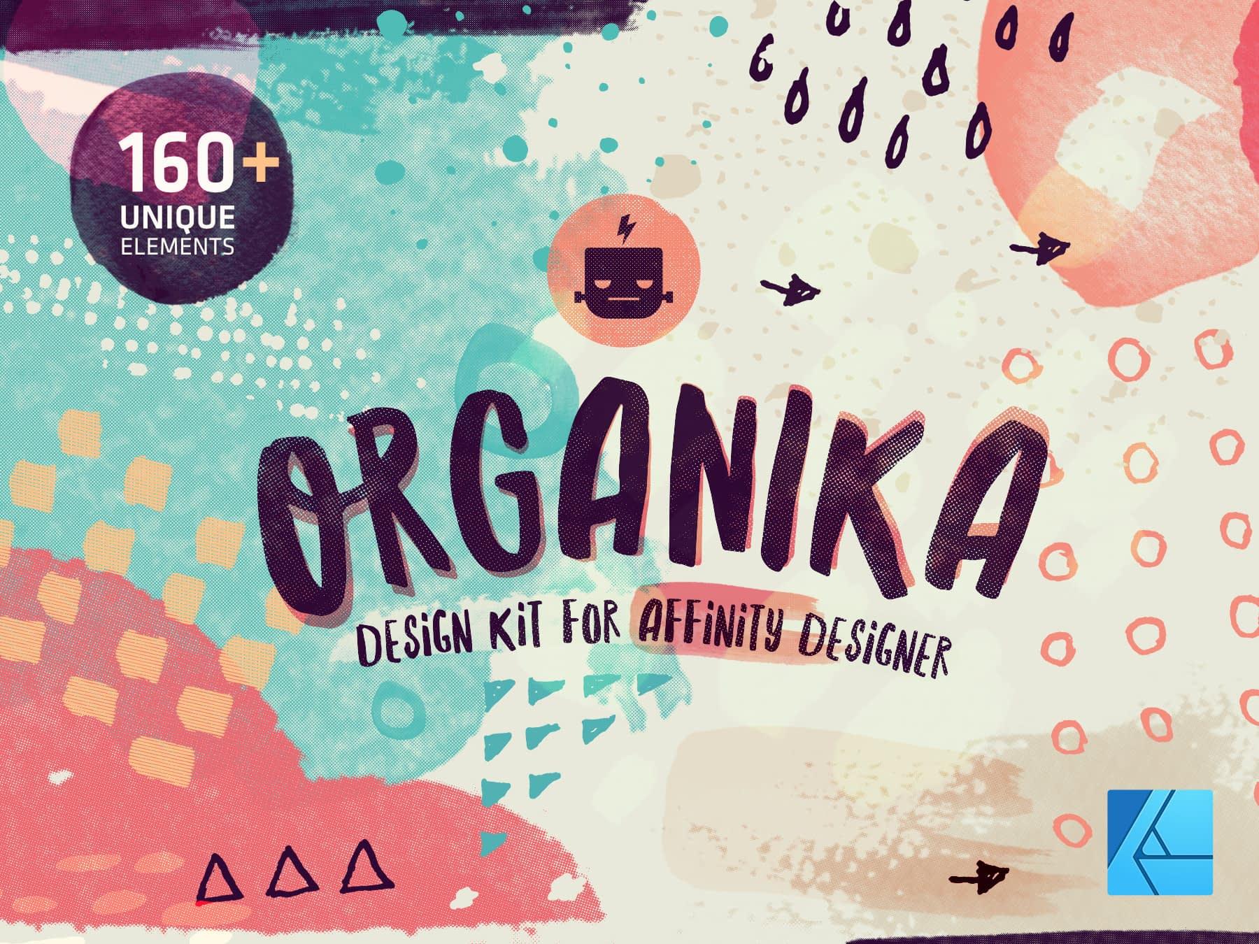 Organika Design Kit for Affinity Designer
