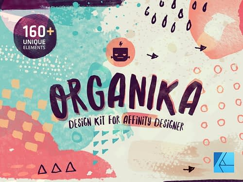Organika Design Kit for Affinity Designer
