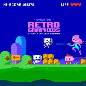 Emulating Retro Graphics in Affinity Designer